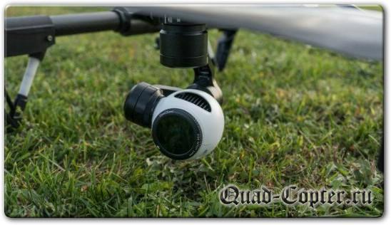Камера квадрокоптера DJI Inspire 1
