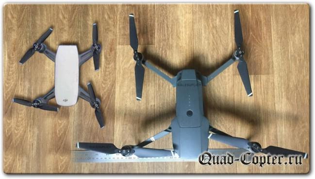 Обзор квадрокоптера DJI Spark