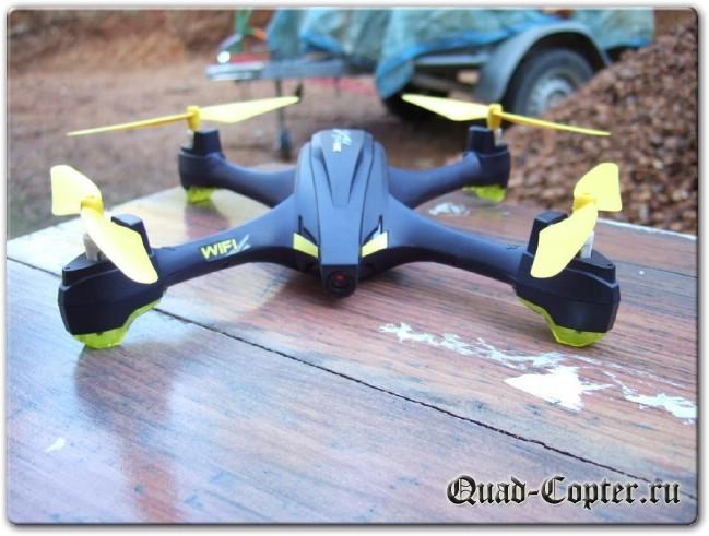 Обзор квадрокоптера Hubsan H507D