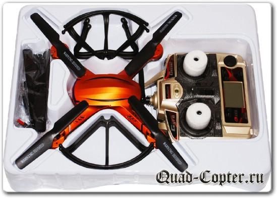 Обзор квадрокоптера JJRC H12c