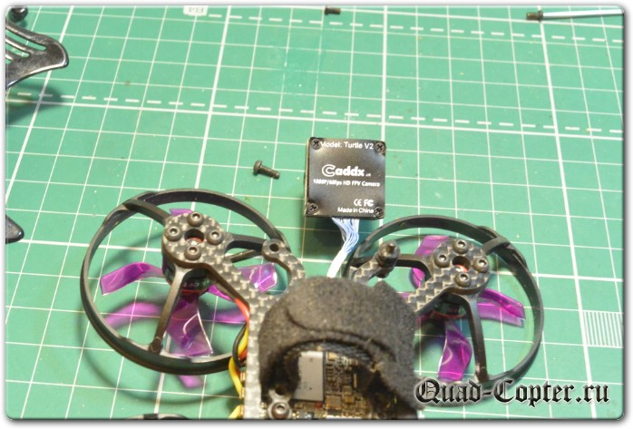 Обзор квадрокоптера Makerfire Armor 85 HD V2