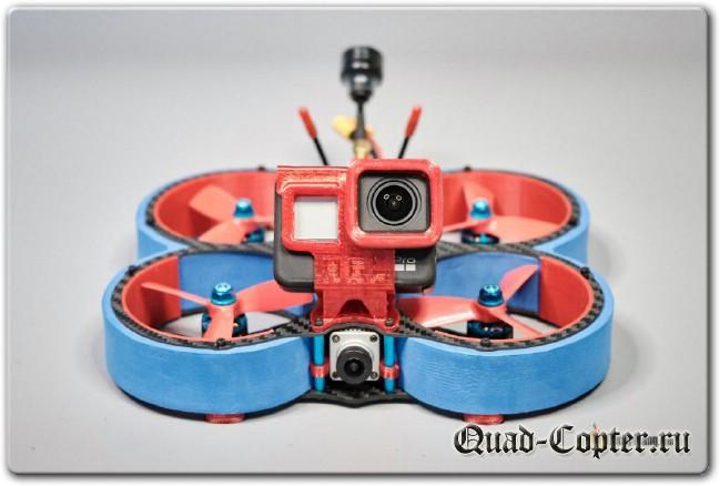 Обзор: синевуп HGLRC Veyron 3 (с воздушным модулем Caddx Vista для DJI HD FPV)
