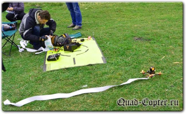 Воздушный бой FPV дронов