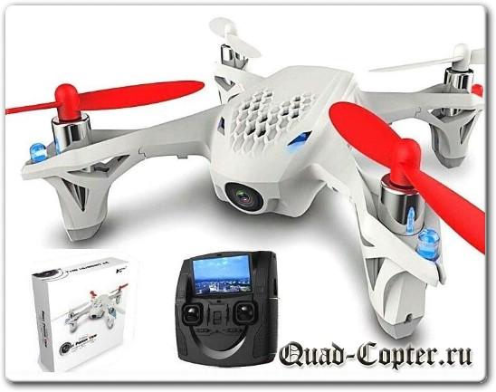 Летающая игрушка с видеокамерой Hubsan X4 H107 FPV
