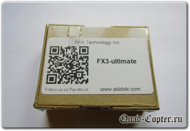 Отличный бюджетный видеопередатчик AKK FX3-ultimate