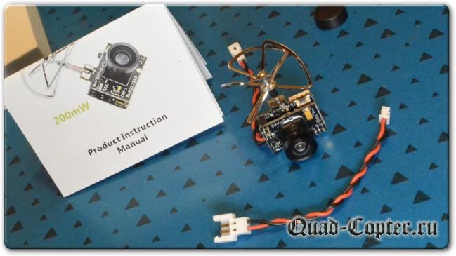 курсовая камера для FPV полетов