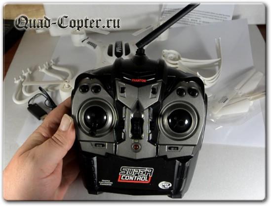 Передатчик квадрокоптера FY550