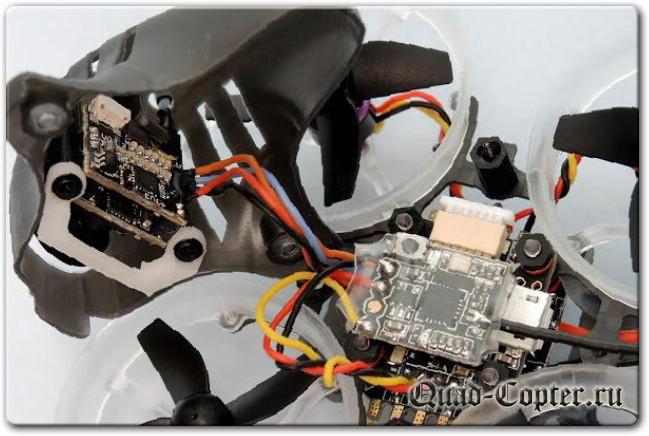 Микровертолеты и FPV: HB64 - маленький вуп на бесколлекторных моторах
