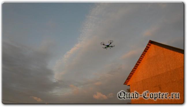 Обзор квадрокоптера JJRC H11WH