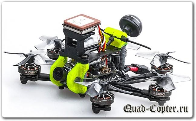 LongRange квадрокоптер Flywoo Firefly Hex Nano