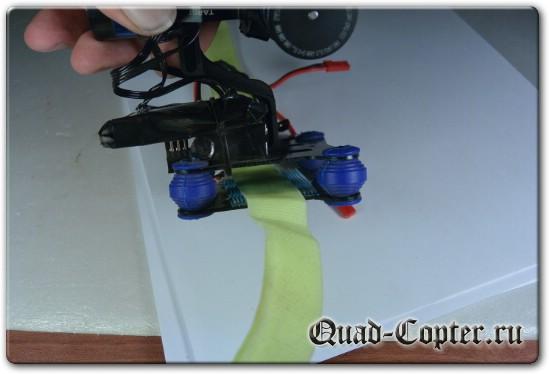Как закрепить Tarot-T-2D на квадрокоптере
