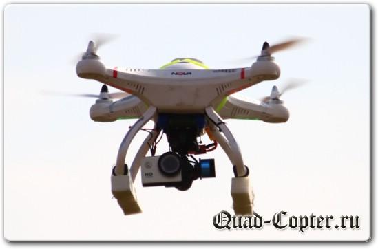 cx-20 квадрокоптер для начинающего