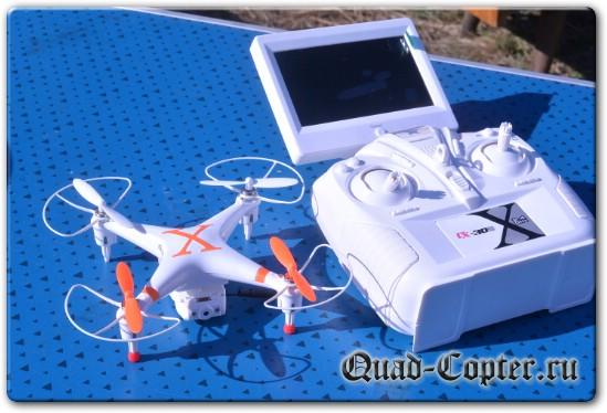 квадрокоптер cx-30S с FPV