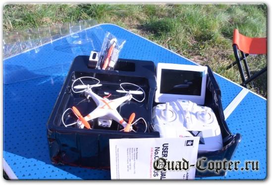 Обзор квадрокоптера Cheerson CX-30S