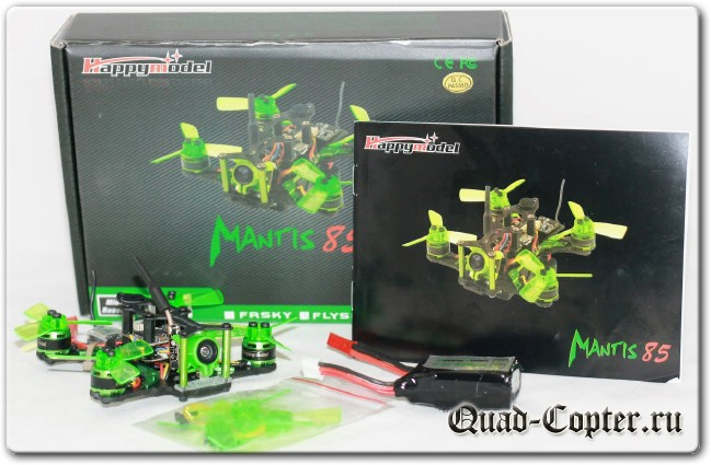 Обзор квадрокоптера Mantis 85