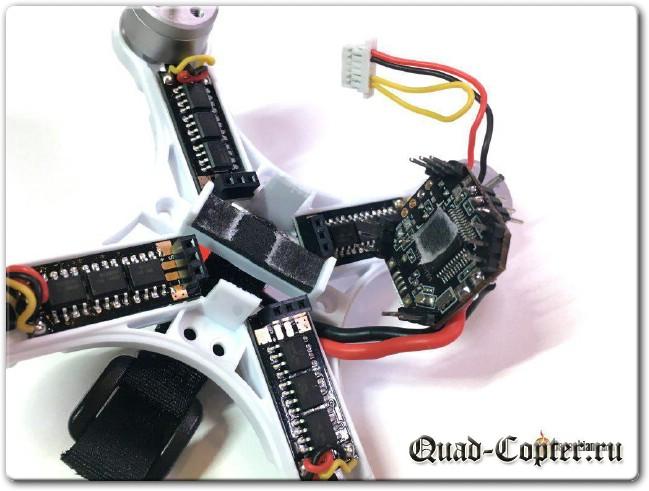 Обзор: EMAX Babyhawk 85mm — микроквадрик с бесколлекторными моторами