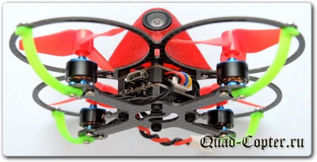 Микровертолеты и FPV: FullSpeed BeeBee-66 - домашний питомец на бесколлекторных моторах