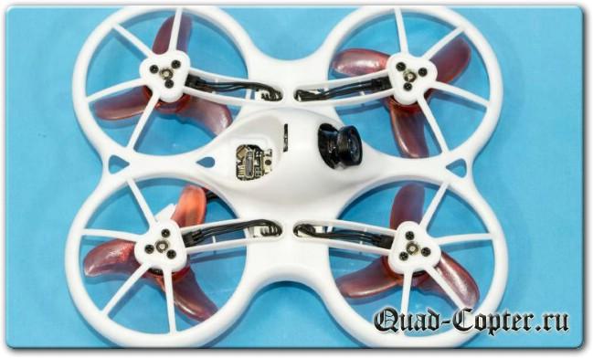 Микро квадрокоптер на бесколлекторных моторах – EMAX Tinyhawk