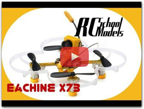 Micro FPV Quadcopter Eachine X73.