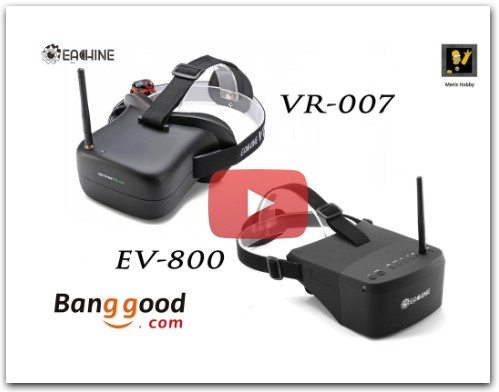 Сравнение Eachine EV800 vs Eachine VR 007