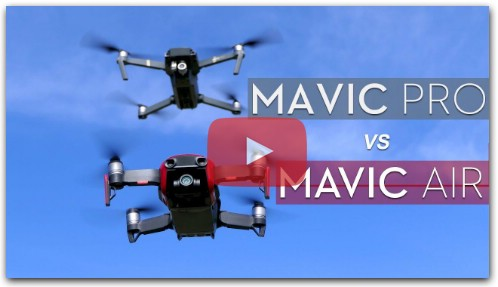 Mavic Pro vs Mavic Air - Что купить (2018)