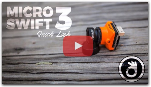 RunCam Micro Swift 3 Quick Look