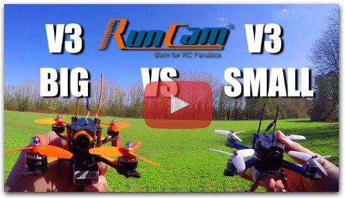 Big or small? Runcam Micro Swift V3