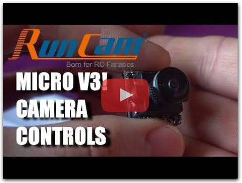 RunCam Micro Swift V3 - Camera Controls!