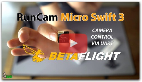 RunCam Micro Swift 3 - настройки в Betaflight