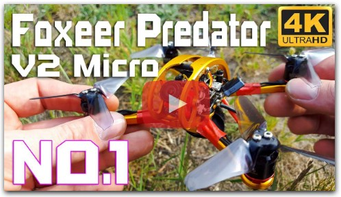 Foxeer Predator Micro V2 BEST FPV Camera in 2018