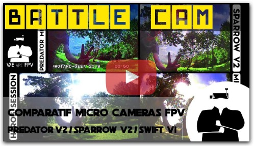 Битва камер: Foxeer Predator Micro v2 VS RunCam Sparrow v2 VS RunCam Micro Swift v1