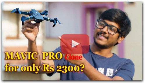 DJI Mavic Pro Clone!! Eachine E58 Drone Review and Flight Test