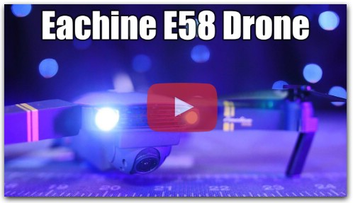 Eachine E58 Drone Review!