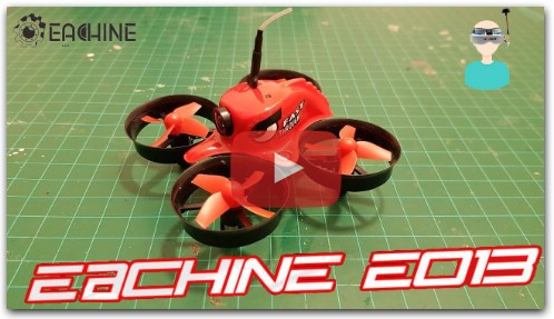 Eachine E013 - Unboxing, review and FPV flight