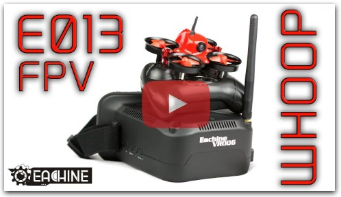 Eachine E013 Review - Complete Beginner FPV Setup