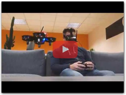 Drone Eachine E013 + casque VR006 - Test en vol