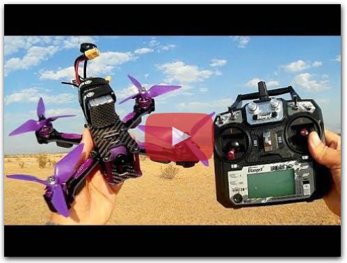 Eachine Wizard X220S Upgraded FPV Racer Drone Flight Test Review