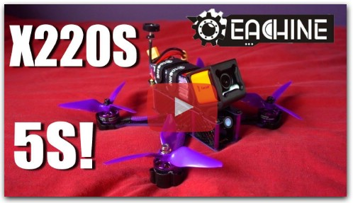 Eachine Wizard X220S - A 5S Monster