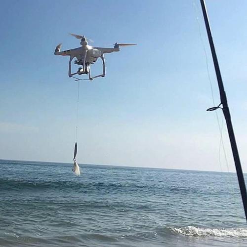 Квадрокоптер для рыбалки