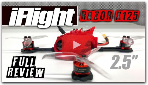 iFlight X125 Micro Brushless - Review, LOS Flight, FPV, Pros & Cons