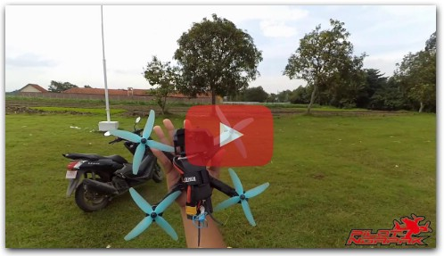 Test Freestyle Drone Racing