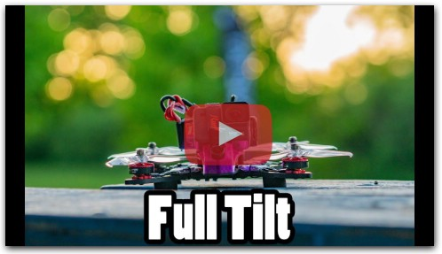 Full Tiilt with a Freestyle Drone