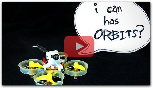 Practice ORBITS with a TINY WHOOP!