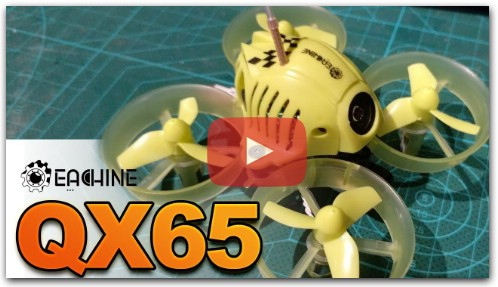 Eachine QX65 unboxing, review y primer vuelo en español - Advanced Version