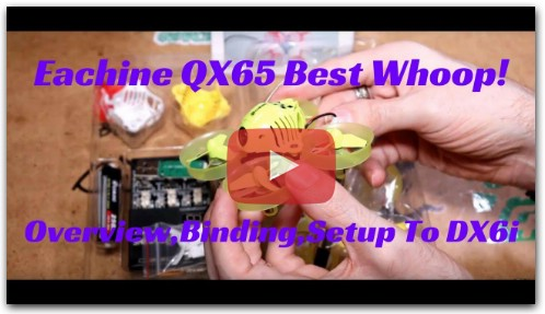 Eachine QX65 Overview And Betaflight Setup For The DX6i