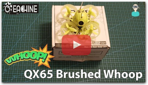 Eachine QX65 - Micro Brushed Whoop