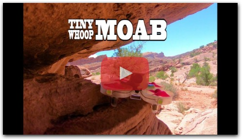 Red Rocks Exploration - Moab Utah - Tiny Whoop
