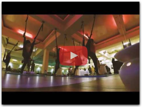 Aerial Yoga with Hamna Moin
