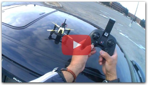 Hubsan H122D X4 STORM FLIGHT/REVIEW