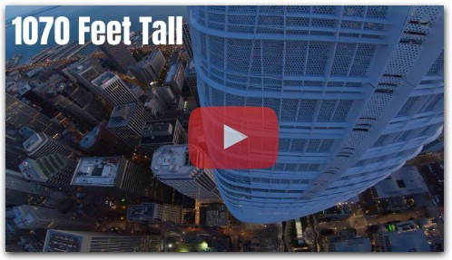 Diving the 2nd Tallest Building West of the Mississippi with a Drone - Salesforce Tower